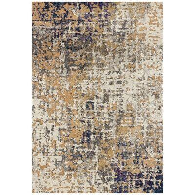 Crystal Sonia Modern Rug, 200x290cm, Navy