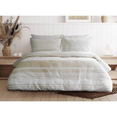 Ardor Boudoir Monte Carlos 3 Piece Comforter Set, Single / Double