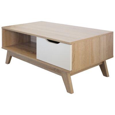 Bergen Wooden Coffee Table, 100cm