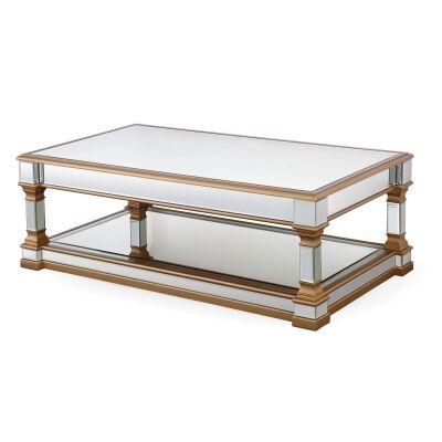 Tertenia Mirrored Coffee Table, 130cm