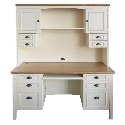 Melton Credenza Desk with Hutch, 150cm