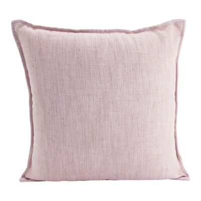 Farra Linen Scatter Cushion, Baby Pink