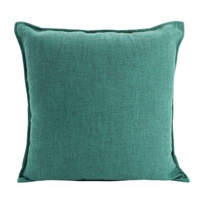 Farra Linen Euro Cushion, Green