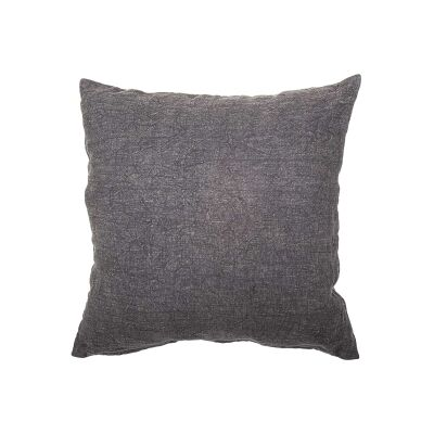 Northam Linen Fabric Scatter Cushion, Charcoal