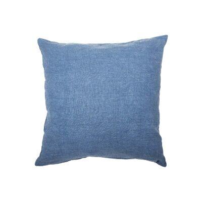 Northam Linen Fabric Scatter Cushion, Denim