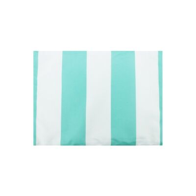Set of 2 Minell Stripe Indoor / Outdoor Fabric Placemats, Mint