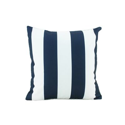 Minell Stripe  Scatter Cushion, Navy