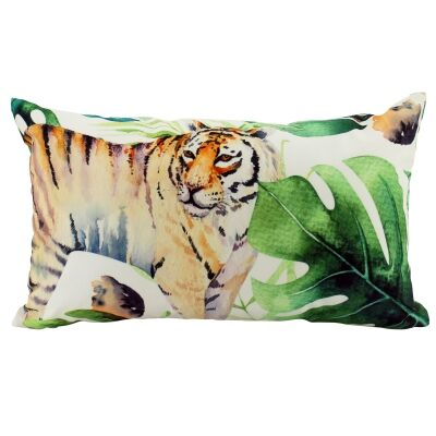 Jungle Tiger Indoor / Outdoor Double Sided Lumbar Cushion