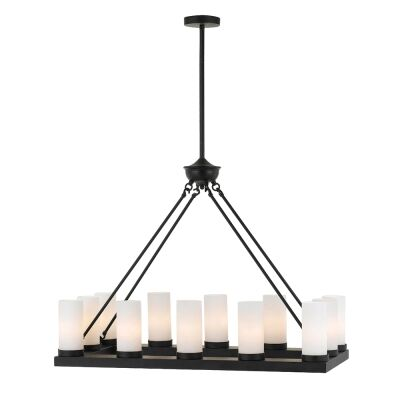 Cutler Metal Pendant Light, Black
