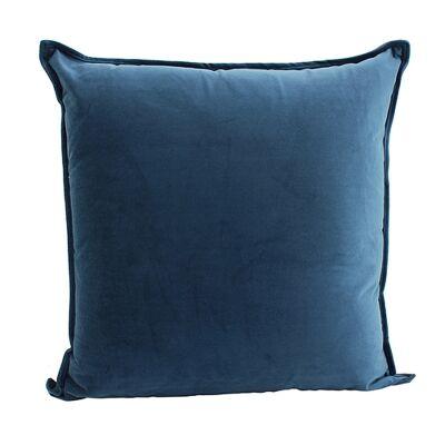 Maldon Velvet Floor Cushion, Navy