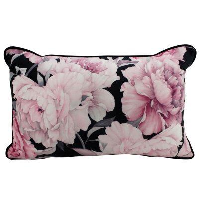Ally Eden Velvet Lumbar Cushion