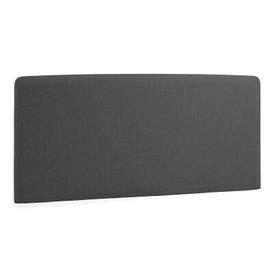 Sylvia Fabric Bed Headboard, Queen, Graphite