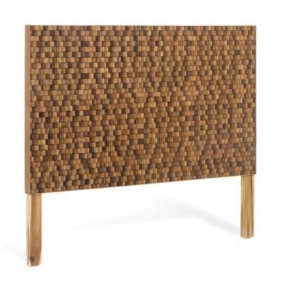 Fife Handmade Teak Timber Bed Headboard, Queen