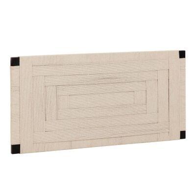 Muko Cotton Rope & Timber Bed Headboard, Queen