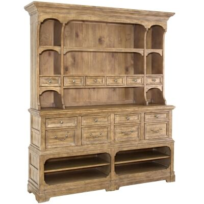 Graham Hills Pine Timber Hutch Cabinet