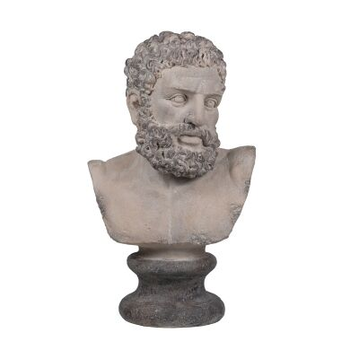 Neo Classical Male Bust Sculpture