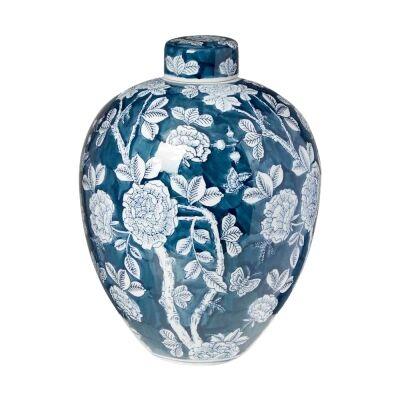Camille Ceramic Temple Jar, Large