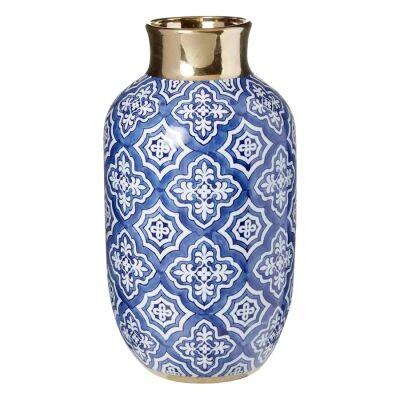 Tangier Ceramic Bottle Vase