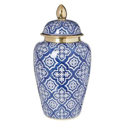 Tangier Ceramic Ginger Jar, Large