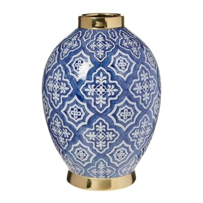 Tangier Ceramic Urn Vase