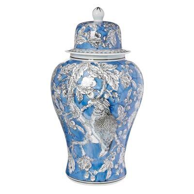 Mona Ceramic Ginger Jar, Large