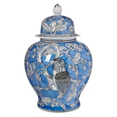 Mona Ceramic Ginger Jar, Small