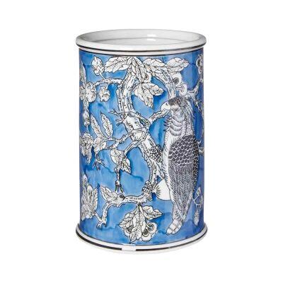 Mona Ceramic Cylinder Vase