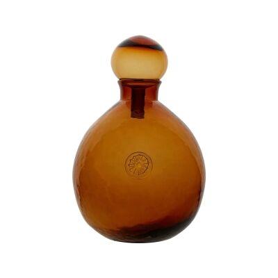 Cornetta Glass Decanter, Large, Amber