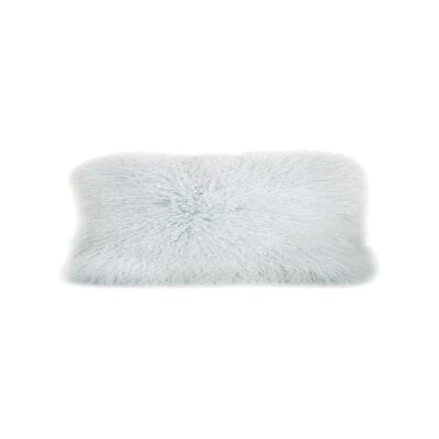 Amersham Tibetan Lambswool Lumbar Cushion, Mist