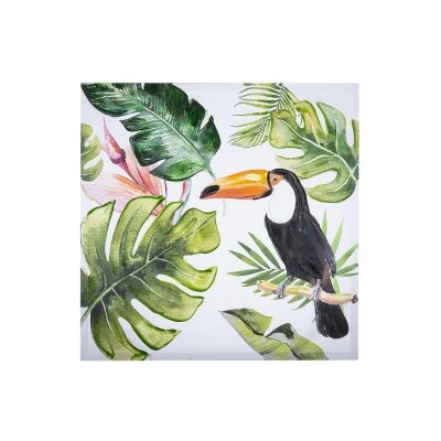 Bryant Stretched Canvas Wall Ar Print, Toucan B, 80cm