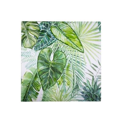 Bryant Stretched Canvas Wall Ar Print, Tropical Leaves A, 80cm