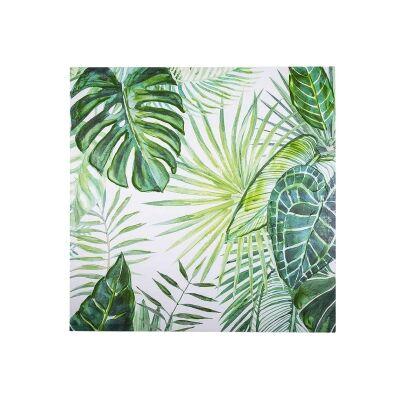 Bryant Stretched Canvas Wall Ar Print, Tropical Leaves B, 80cm