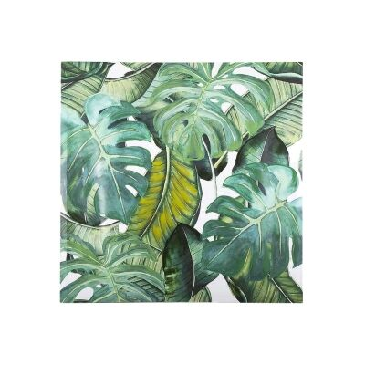 Bryant Stretched Canvas Wall Ar Print, Tropical Leaves D, 80cm
