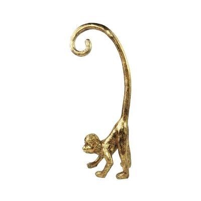 Louis The Monkey Figurine, Gold