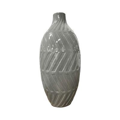 Geo Cerammic Vase, Large
