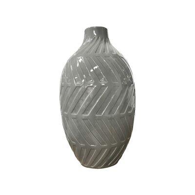 Geo Cerammic Vase, Medium