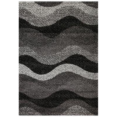 Barcelona Wave Modern Rug, 80x150cm