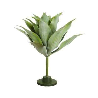 Maddox Artificial Agave Plant on Stand, 70cm