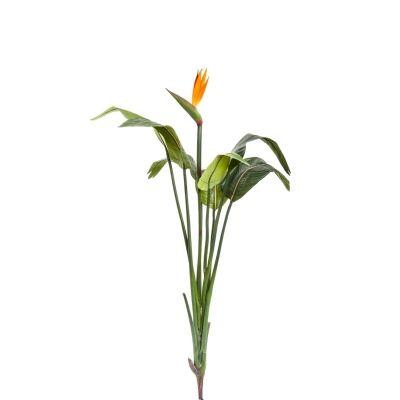 Artificial Bird of Paradise Stem with Flower, 137cm
