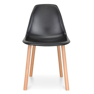 Visby Dining Chair, Black