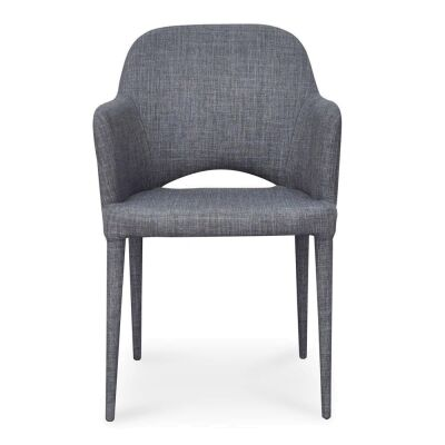 Moorings Fabric Dining Armchair, Grey