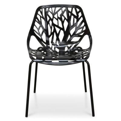 Replica Marcello Ziliani Caprice Chair, Black