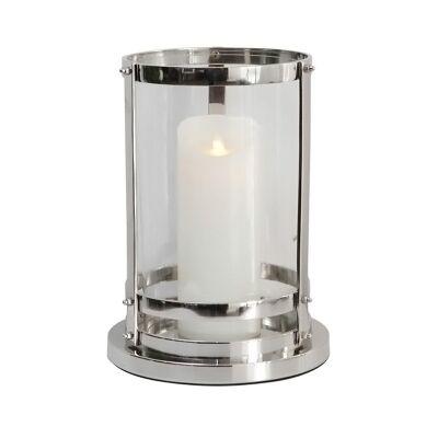Pipe Aluminium & Glass Hurricane, Nickel