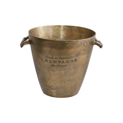 Louvois Metal Ice Bucket