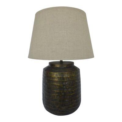 Abdur Aluminium Base Table Lamp