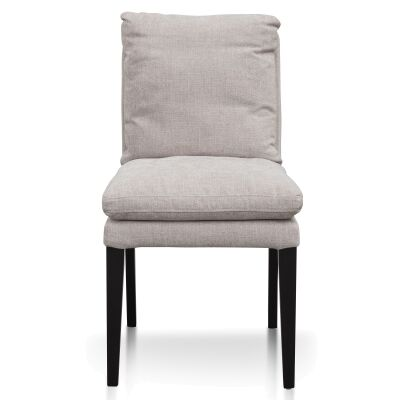Rogers Fabric Dining Chair, Oyster Beige