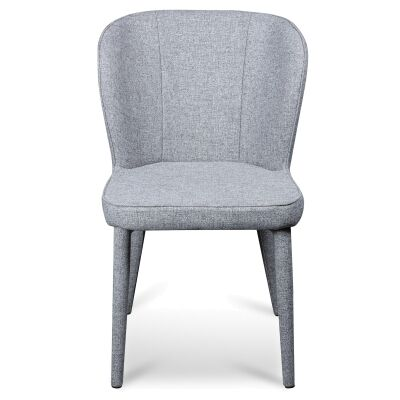 Cassilis Fabric Dining Chair, Pebble Grey