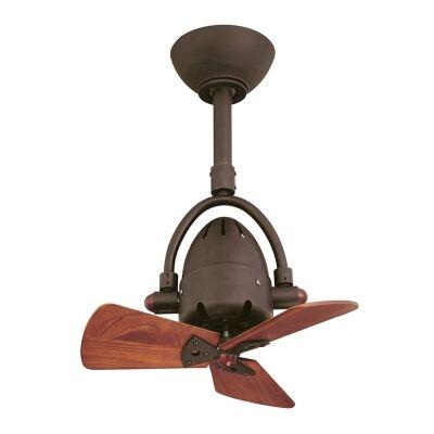 Atlas Diane Commercial Grade Solid Wood Ceiling Fan - Bronze