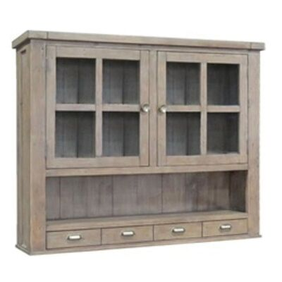 Berrima Recycled Pine Timber Hutch Cabinet