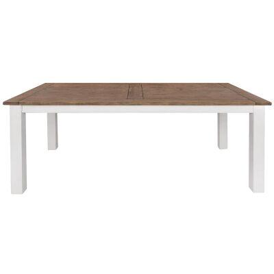 Clontarf Pine Timber Dining Table, 210cm